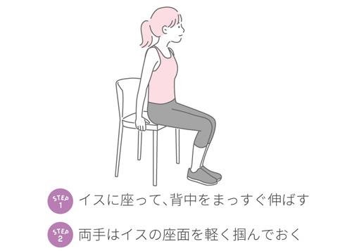 下腹引き締めエクササイズ1