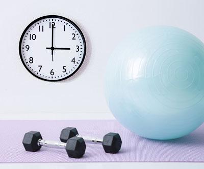 効果的な運動時間帯?